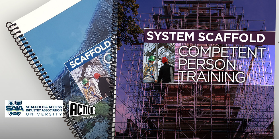 SAIA System Scaffold Competent Person Training