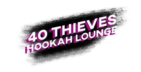 40 Theves hookah lounge title