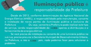 ILUMINAÇÃO PÚBLICA E CIP.