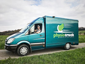 physiotruck, Erfan Barogh, mobil, Physiotherapie