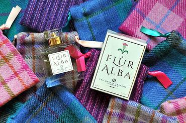 Harris Tweed Perfume Bags