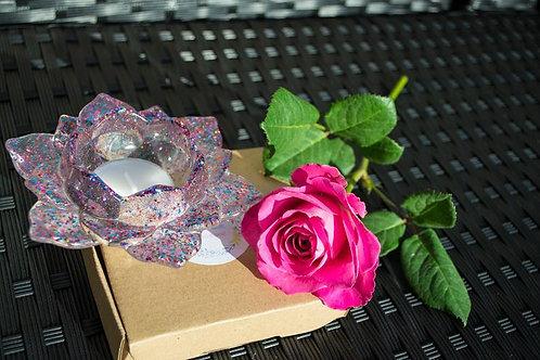 Fabulous Heat Resistant Lotus Flower Tealight Holder