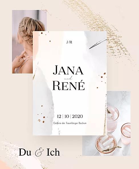 Couture Hochzeitseinladung_