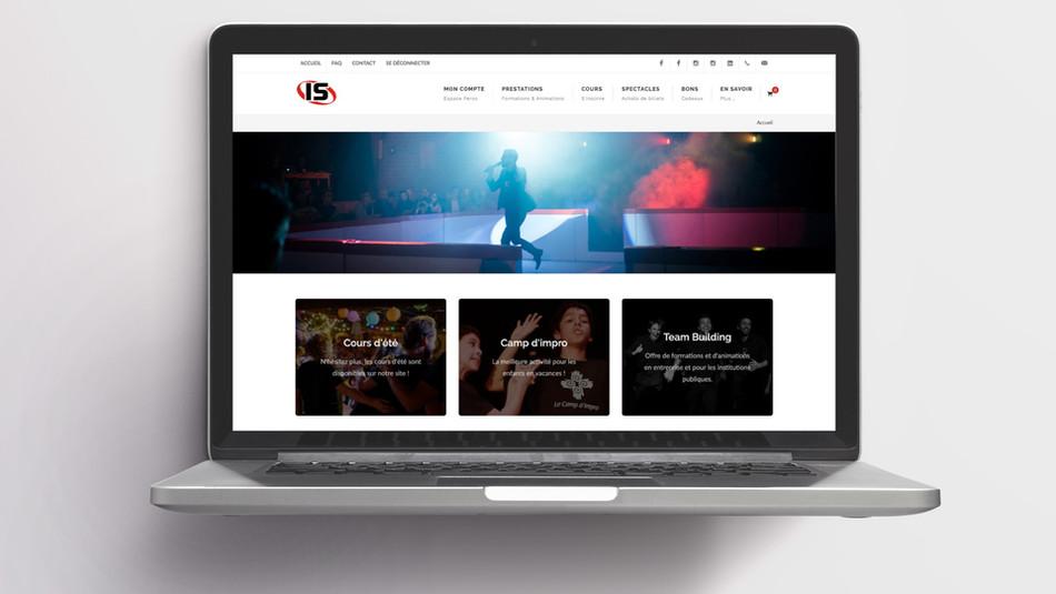 Site Internet Impro Suisse