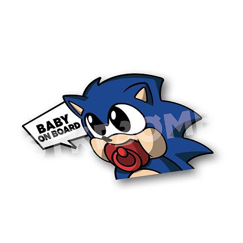 Baby on Board - Hedgehog