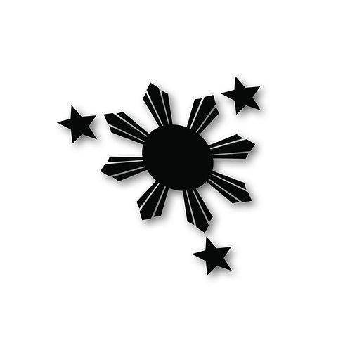 Three Star Sun - 3 Piece Set