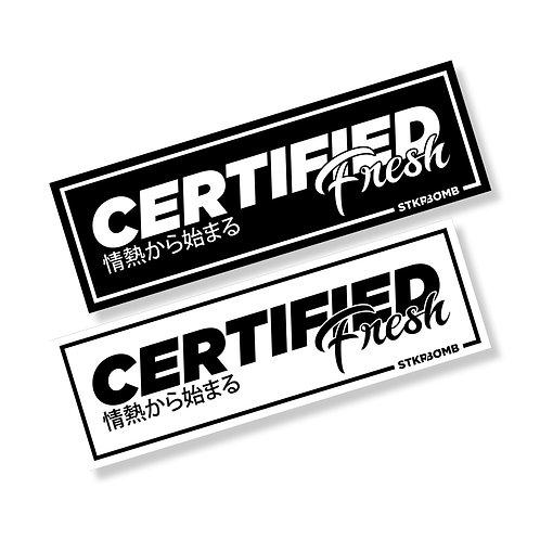Certified Fresh Slap