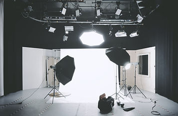 Photoshoot Setup for In Studio Professional Photography