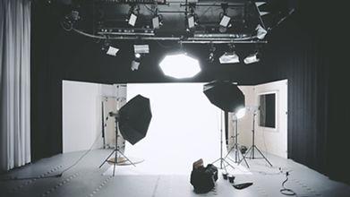 写真撮影のセットアップ