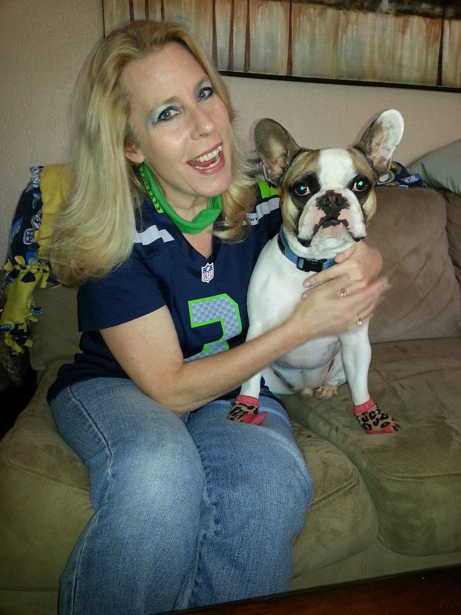 Nanny and Griffey Super Bowl