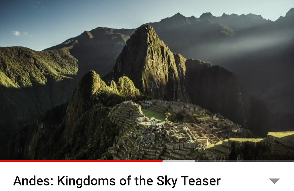 Andes: Kingdoms of the sky Teaser travel documentry