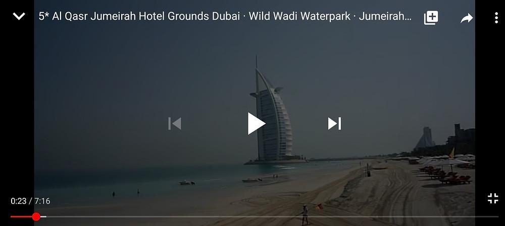 Wild Wadi Waterpark and Jumeirah Beach Hotel