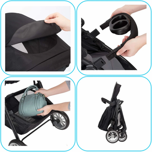 Stroller that carry your baby and your legage