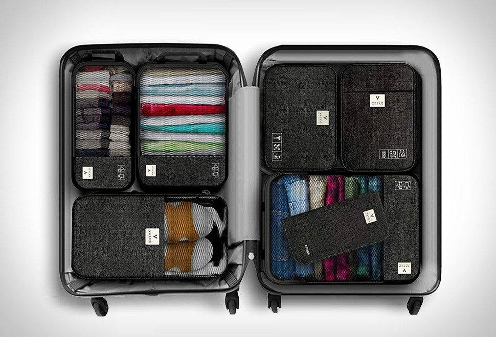 Vasco Packing Cubes For Traveling in Minimalist Packing