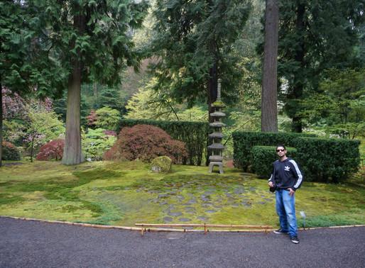 Washington Park Part 2:  The Tranquilizing And Botanical Japanese Garden In Portland, Oregon.