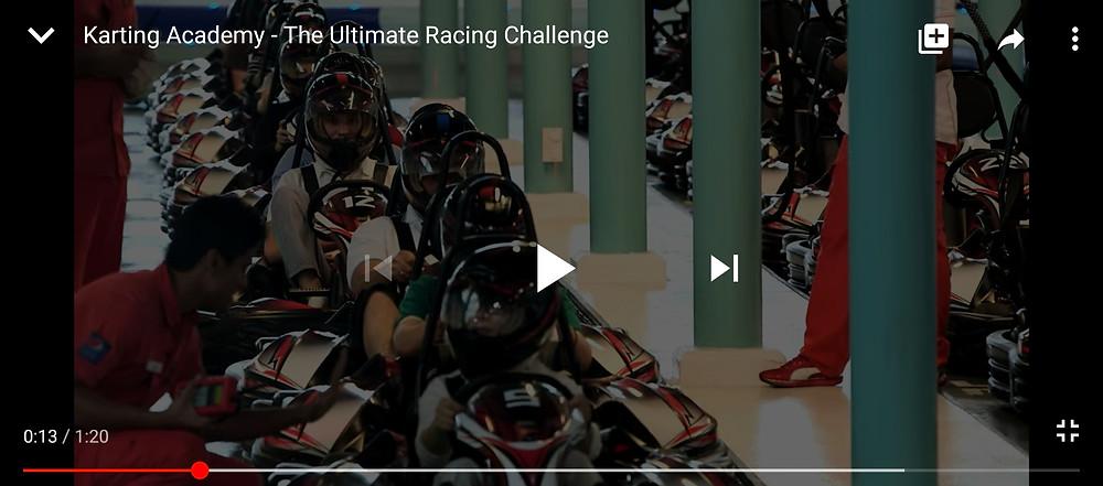 Karting Academy at Ferrari World UAE