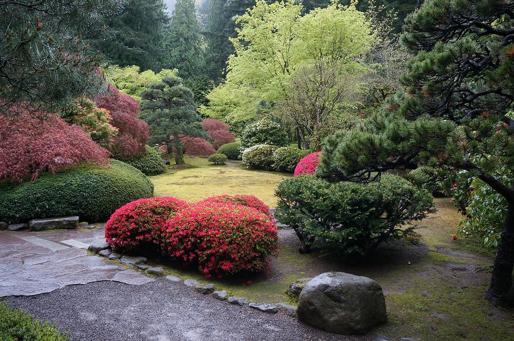 Hillside Garden in Portland, The united States