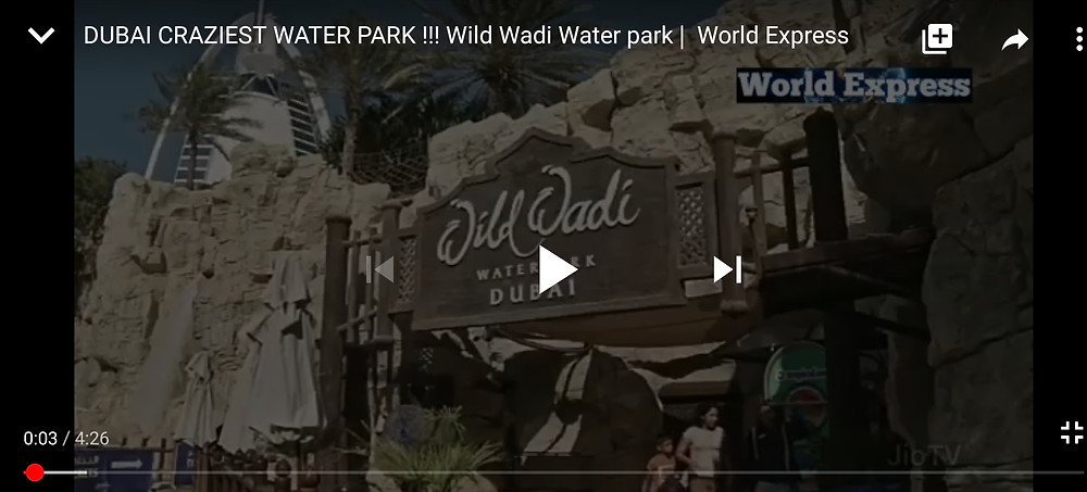 Wild Wadi Water park, Dubai | World Express