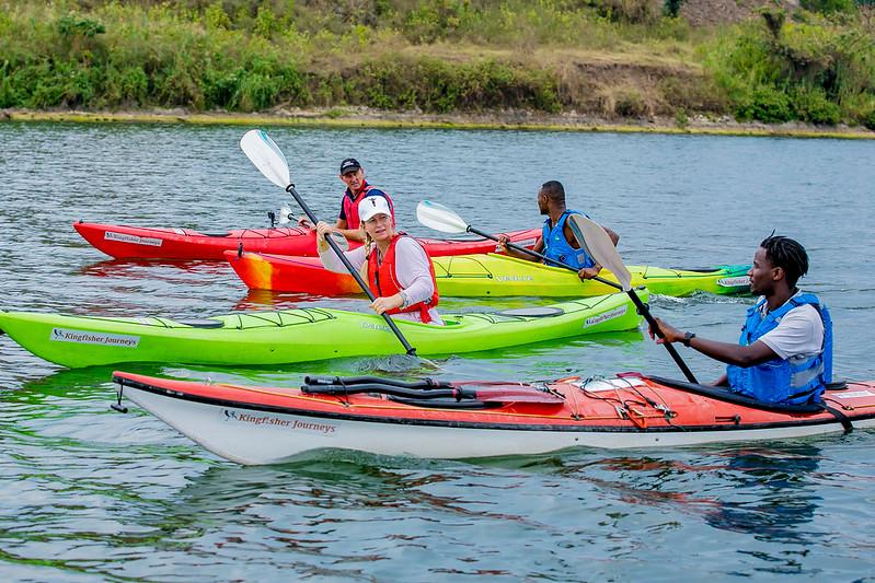 The Lake Kivu Is A Beautiful Kayaking Destination