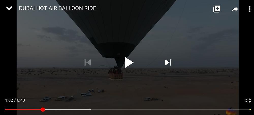 Balloon Adventure Ride In Dubai