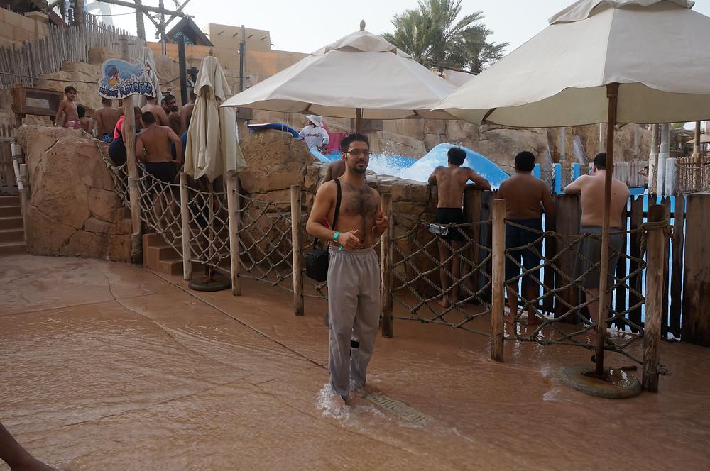 Wild Wadi Water theme park. Dubai UAE