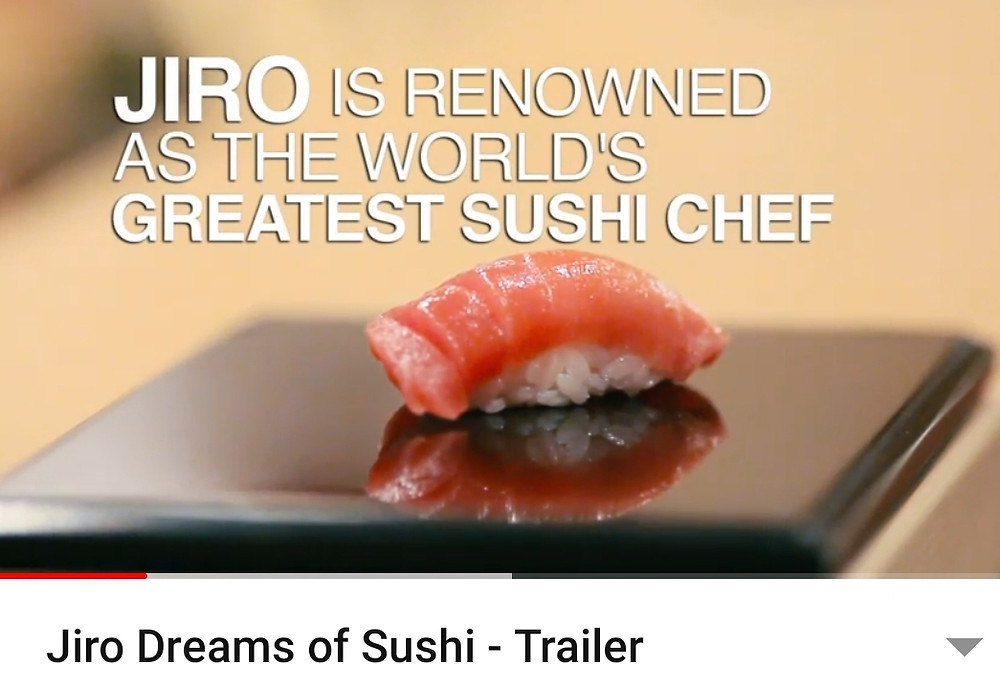 Jiro is the world greatest sushi master chef travel documentry