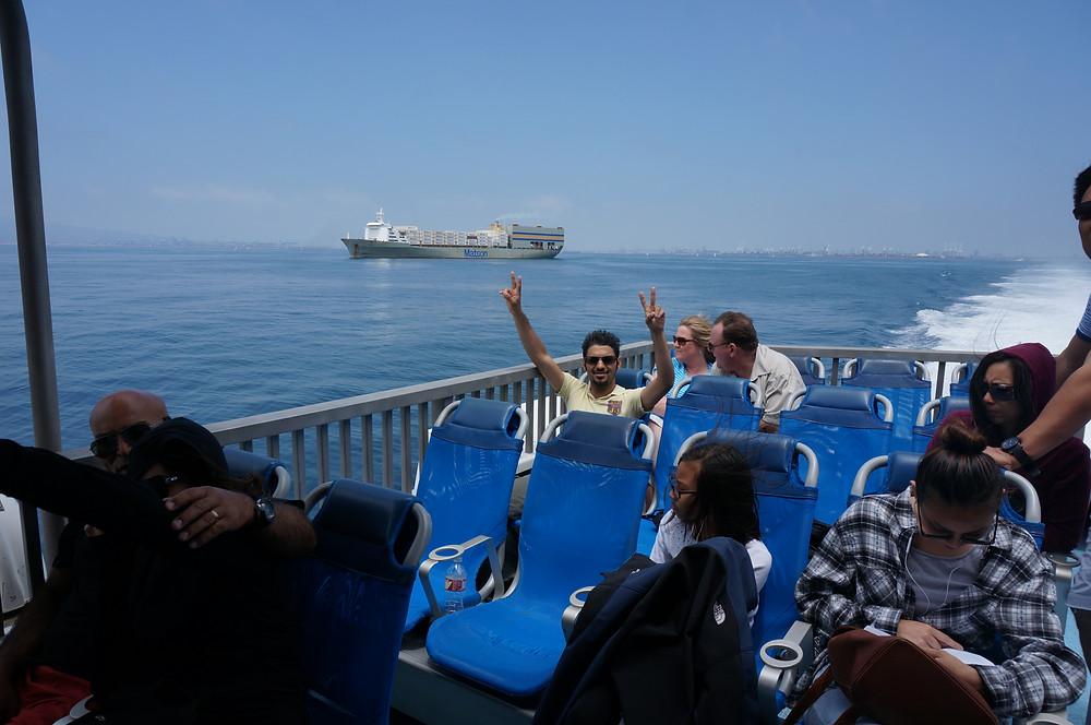 Long Beach Ferries/ Ferry To Catalina Island, California