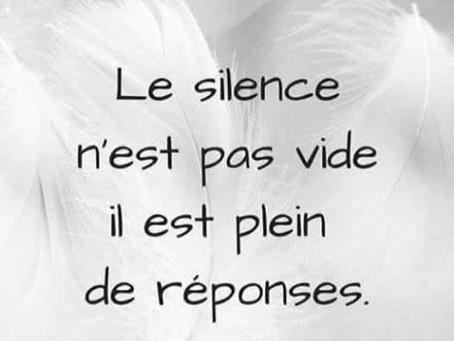 Le Silence a tellement de choses à nous apprendre !