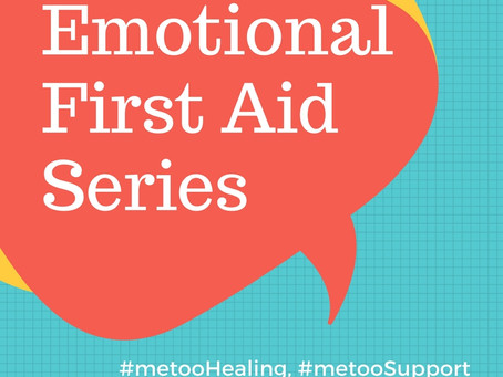 Emotional First Aid Series: Trauma Tapping Technique