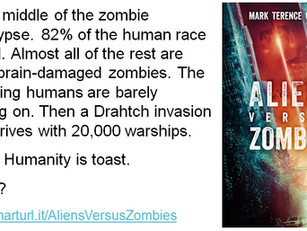 Aliens Versus Zombies on sale for $0.99/£0.99 through 29 Jan. 2015