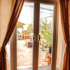 Portes-fenêtres isolées
