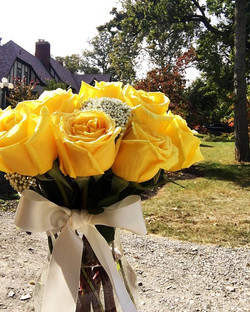 Flower Delivery Friday! Who wouldn't want some gorgeous yellow roses to start their weekend_ _#westv