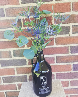 Because sometimes bros need a bouquet, too