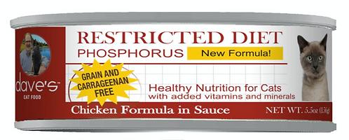 Restricted Diet Phosphorus – Chicken Dinner Canned Cat Food