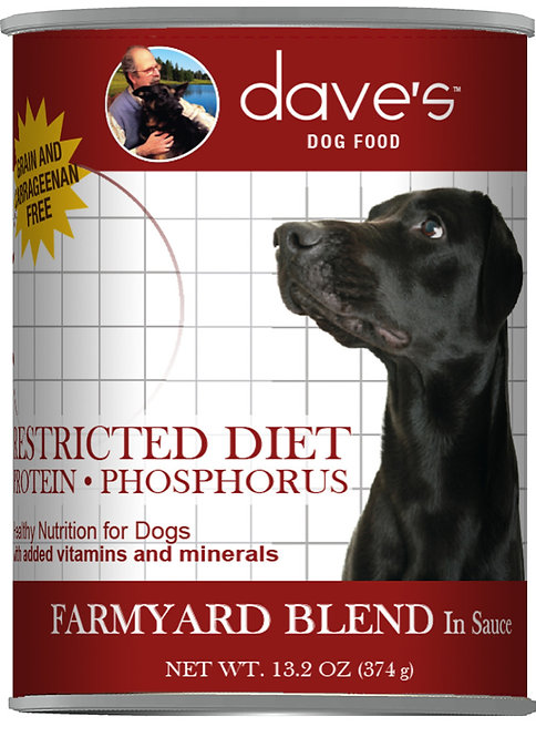 Restricted Diet Protein Phosphorus – Farmyard Blend Canned Dog Food