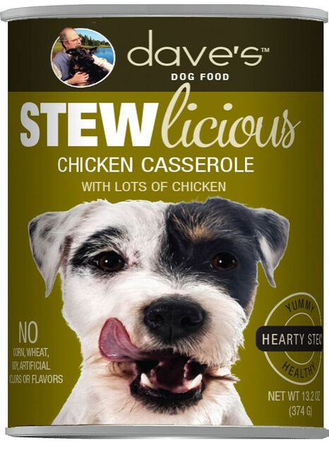 Stewlicious Chicken Casserole Canned Dog Food