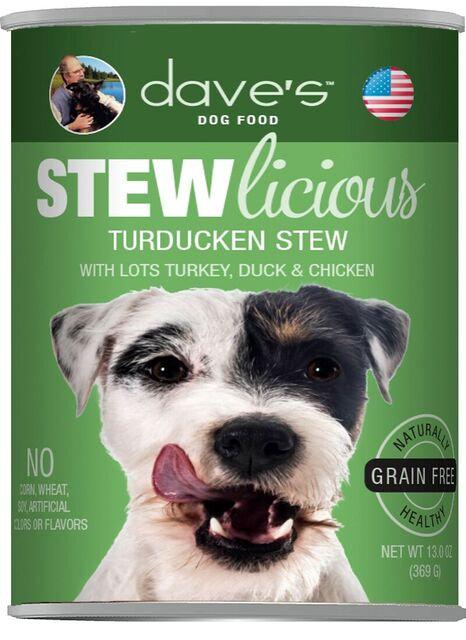 Stewlicious Turducken Stew Canned Dog Food