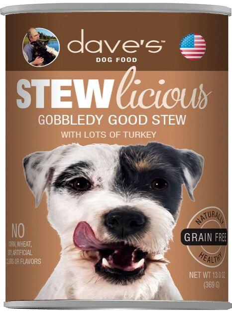 Stewlicious Gobbledy Good Stew Canned Dog Food