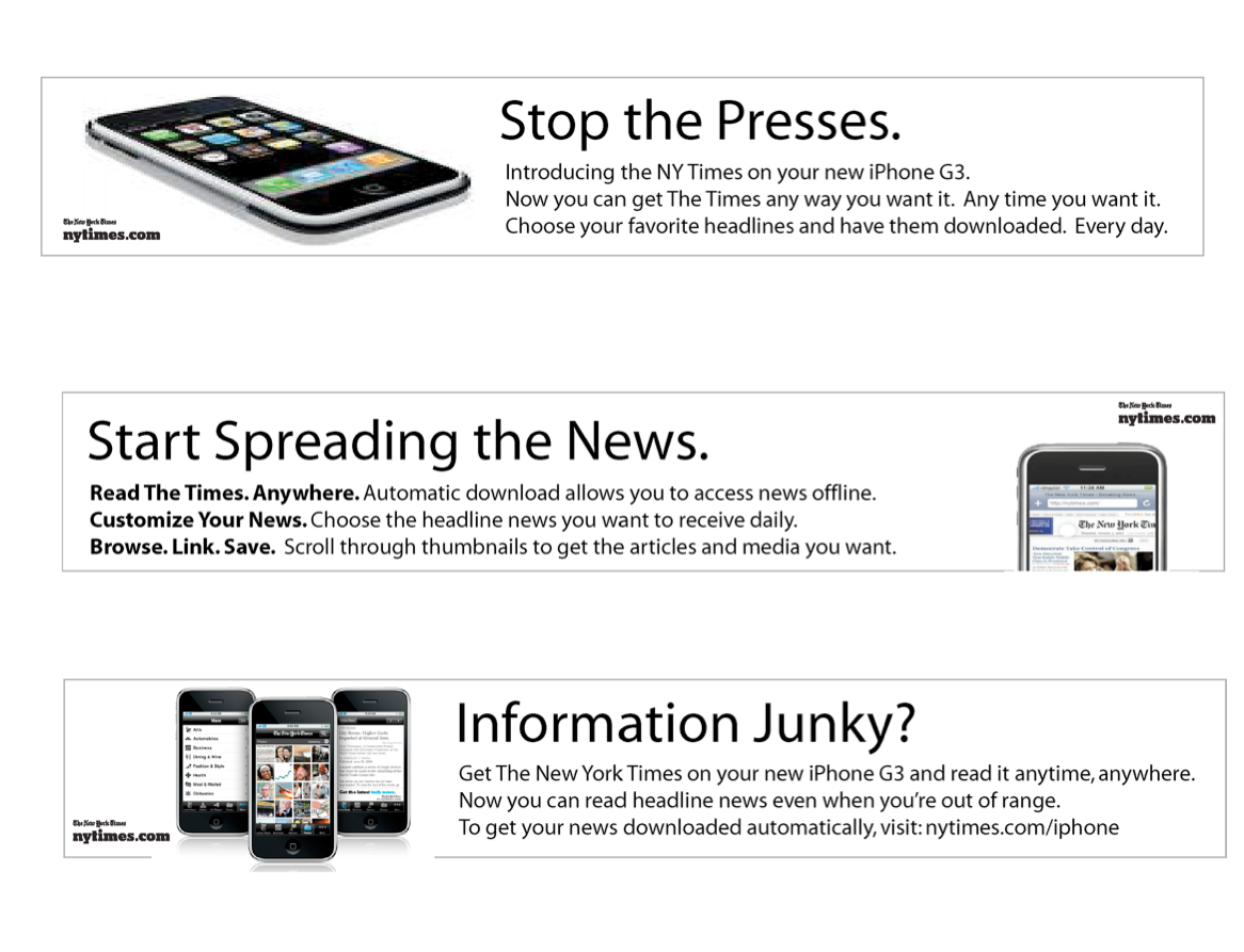 APPLE + THE NEW YORK TIMES