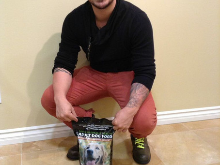 Vicente Fernandez IV is a fan of Dave's Pet Food!