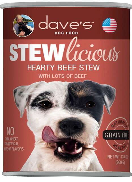 Stewlicious Hearty Beef Stew Canned Dog Food