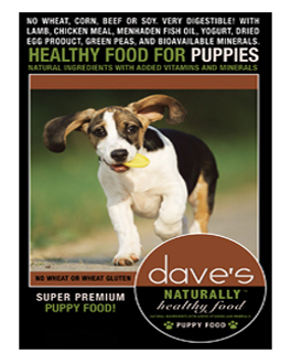 Dave's Naturally Healthy™ Puppy Food