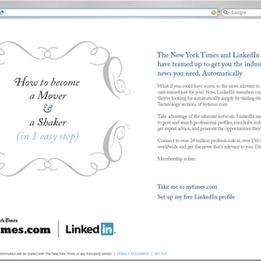 THE NEW YORK TIMES + LINKEDIIN