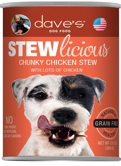 Stewlicious Chunky Chicken Stew Canned Dog Food