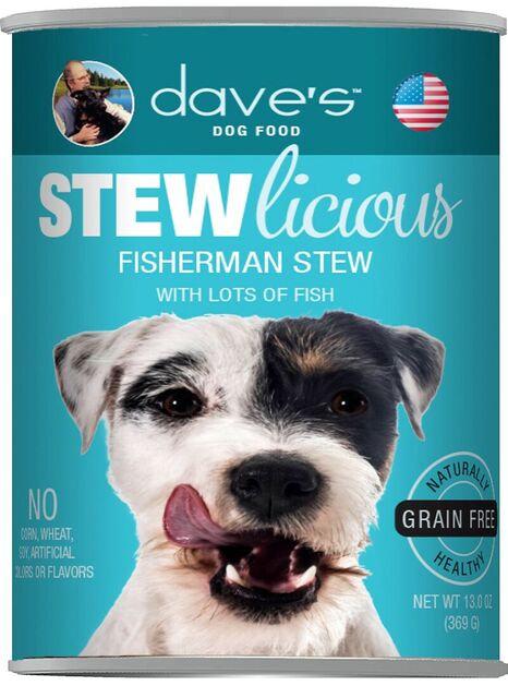 Stewlicious Fisherman Stew Canned Dog Food