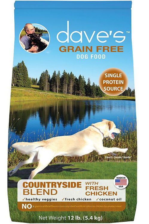 Dave's Grain Free Countryside Blend Dry Dog Food