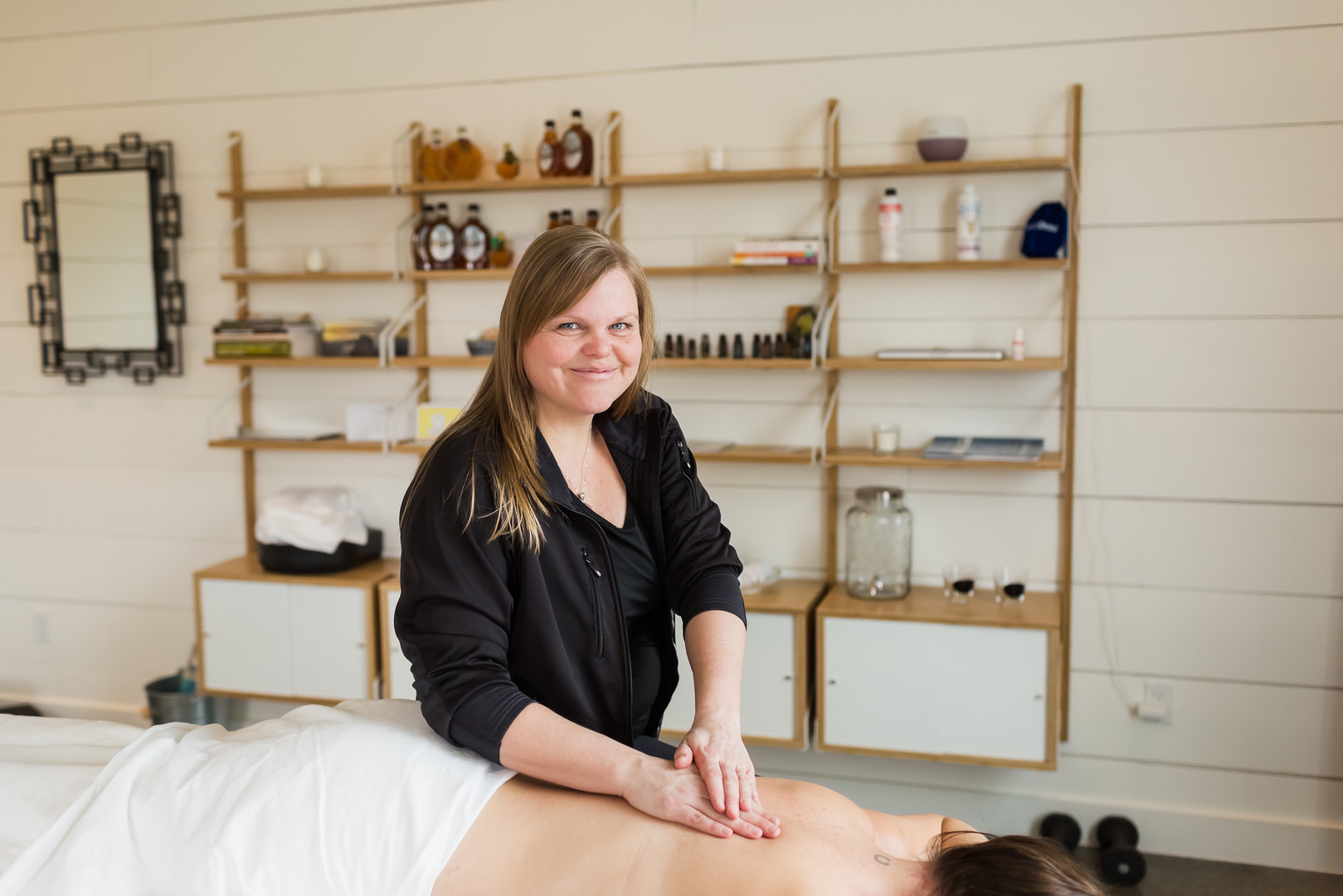 Aktiv Massage Therapy Personal Brand Photography Session