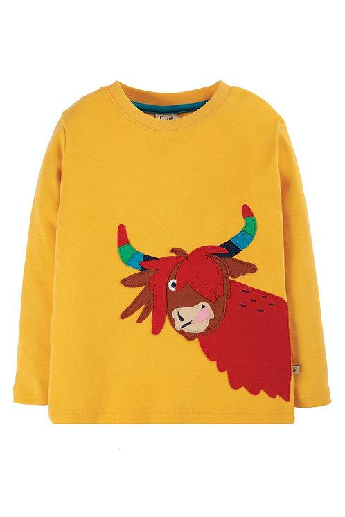 NEU: Langarmshirt ADVENTURE  TOP COW aus reiner Bio-Baumwolle