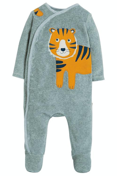 Plüsch-Schlafanzug SWOOP BABYGROW TIGER aus reiner Bio-Baumwolle