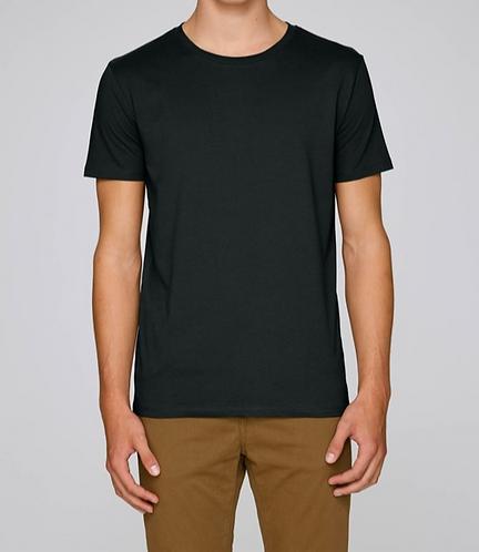 T-Shirt Herren - Schwarz aus reiner Bio-Baumwolle